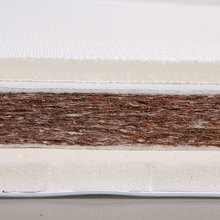 China factory manufacturer coconut fiber latex natures single bed mattress