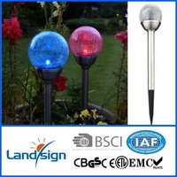 landsign 1* LED Amorphous garden balls light for decoration outside solar lighting