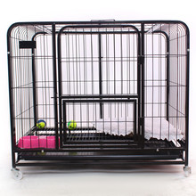 custom car made galvanized wire dog cage for singapore sale