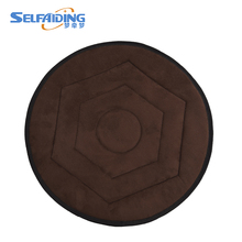 360 Degree Swivel Rotating Freely Car Seat Cushion Black Brown Blue PU Leather Deluxe Chair Seat Cushions