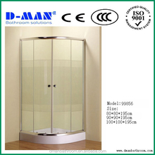 2015 new style enclosed self contained cheap shower cubicle from hangzhou