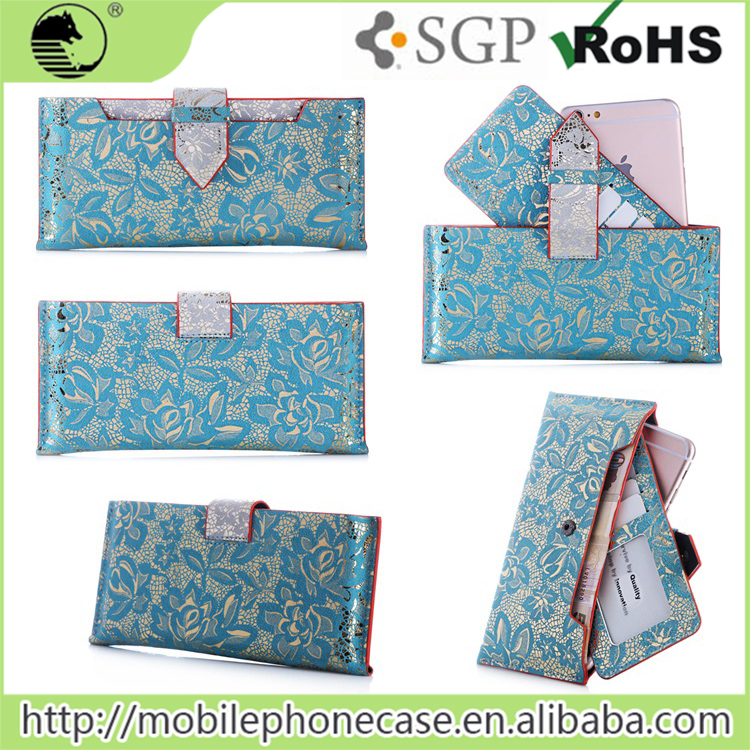 Fancy wallet case cover for girls