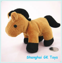 2014 Hot sell Blond pony plush toys