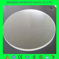 3.2mm 4mm Round and Square Clear Float Glass Reflective Coated Solar glass