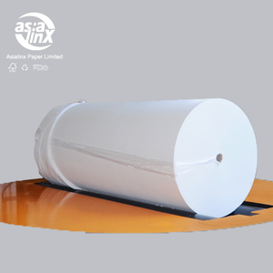 virgin pulp raw material paper parent jumbo roll sanitary napkin