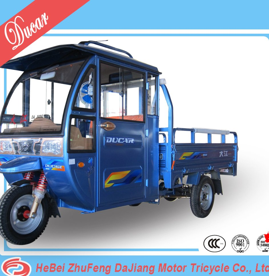 China Ducar Shenlong NO.1 e-trike electric three wheel E rickshaw with 60V1500W differential mootor for cargo