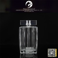 Fashion designer wholesale new style car air freshener glass bottle