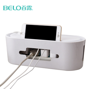 BELO Safety Socket Outlet Board Container Cables Storage Organizer Case Box/ Cables Electric Wire Case