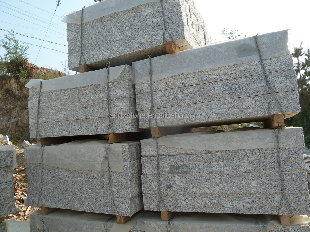 G341 Qixia grey granite kerbstone for paving