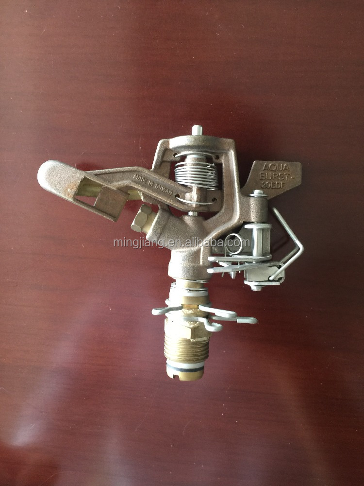 Plastic/Brass Irrigation garden sprinkler