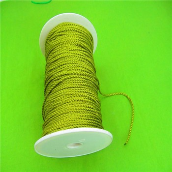 Wholesale Packaging PP Braided Rope Waxed Linen Cord For Packing