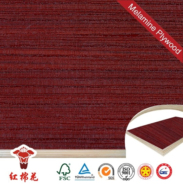 China construction material black wenge veneer plywood from china Red Kapok