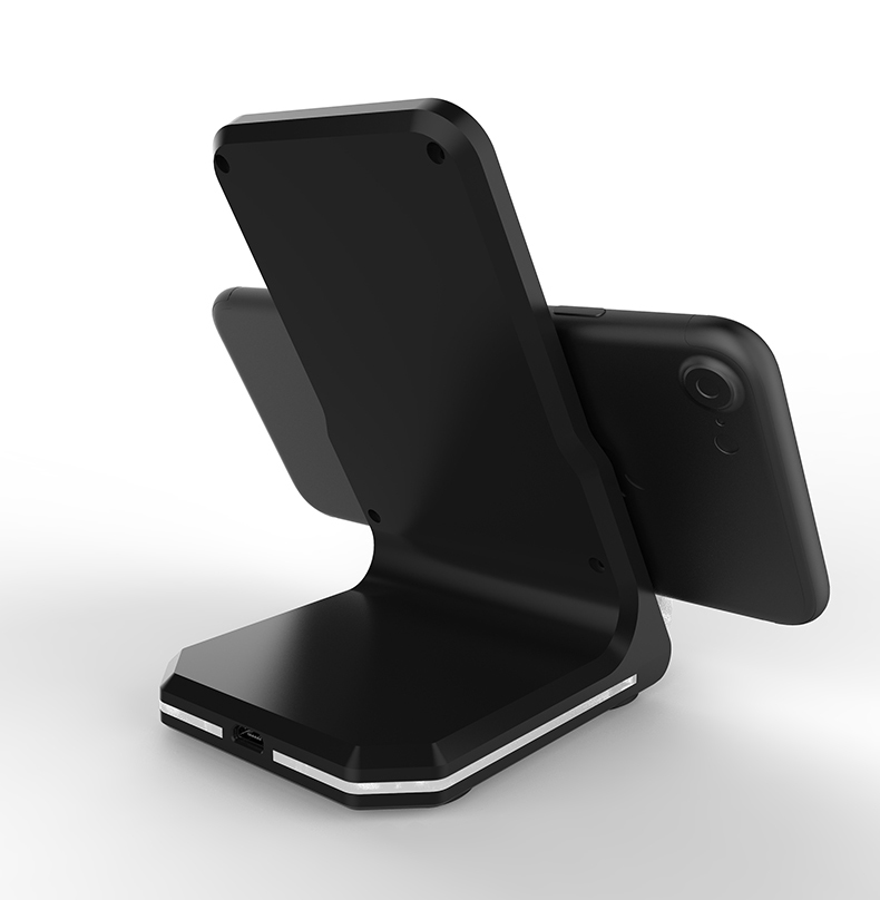 S8 Wireless Charger Stand With Led Fast Charging