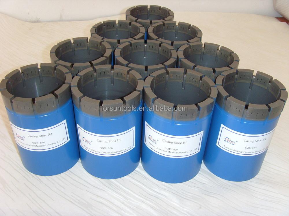 NW HW PW tungsten carbide casing shoe drilling bits