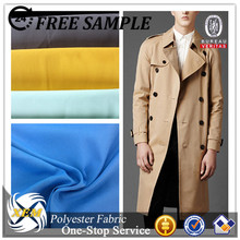 winter coat fabric waterproof windproof polyester cotton blend fabric