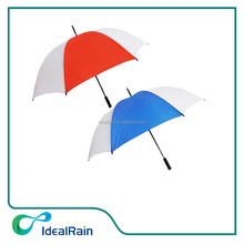 Custom Promotional Golf Umbrellas Large Size for 3 persons