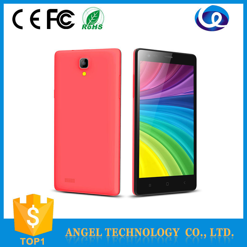 low price china mobile phone CE 5.5 inch 4G Android 4.4 os dual camera sim mobile phone DK15