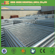 Galvanized and Plastic Coated Welded temporary fence, Portable Safety Fence