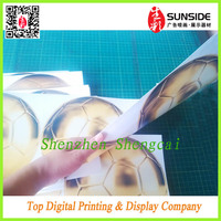vinyl outdoor sticker paper / double side sticker printing