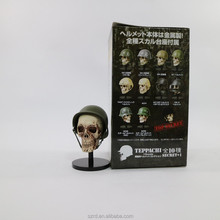 small vivid pvc soldier skull/collectiable pvc model <strong>toy</strong> for kid/wholesale pvc model <strong>toy</strong>