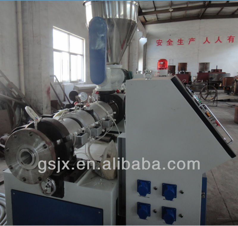 High Efficiency PVC Small Plastic Profile Extrusion Machine