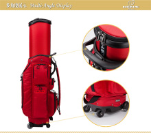 2016 Helix Golf holiday travel cover /golf bag case with wheels.Durable lightweight golf bag