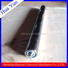 38mm dia Spring Loaded Gravity SS Stainless Steel Conveyor Roller with Galvanized Steel End Cap