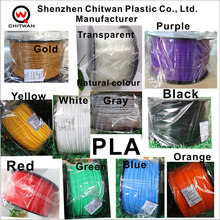 wholesale abs pla 1.75mm 3mm plastic filament 3d printing production line for Solidoodle printer etc