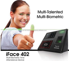 Biometric attendance machines and iface402 face id time attendance system