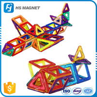 God bless you Magnetic building blocks set magnetic tiles educational toy for kids