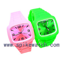 Custom design trendy silicone different styles of sports watches