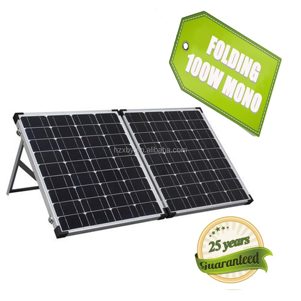 solarstock authentic 50 watt solar cell 5pcs folding panel with life span
