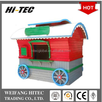 Hot Selling Environmental Protected Wooden Mobile Food Trailer For Multifunctions