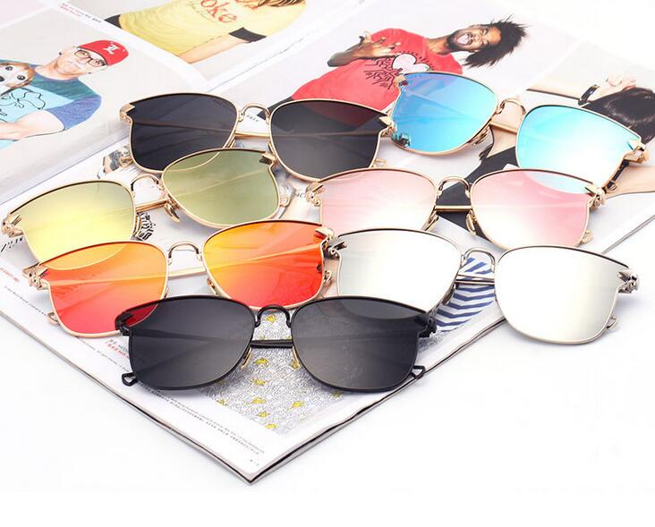 flat lens sunglasses glasses,high quality variety sunglasses(SWTAA2450)