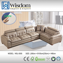 Popular Best Sell Luxury Sofas Elegant Hotel Lobby Leather Settee