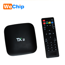 2017 Hot selling TX2 RK3229 1G 8G 2g 8g ott 6.0 tv box android smart 6.0 tv