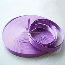 purple polyester piping for clothing