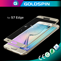 Manufacturer 3D Curved Tempered Glass Screen protector For Samsung Galaxy S7 edge