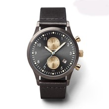 design your own logo 3 atm water resistant men fashion japan quartz movement watch