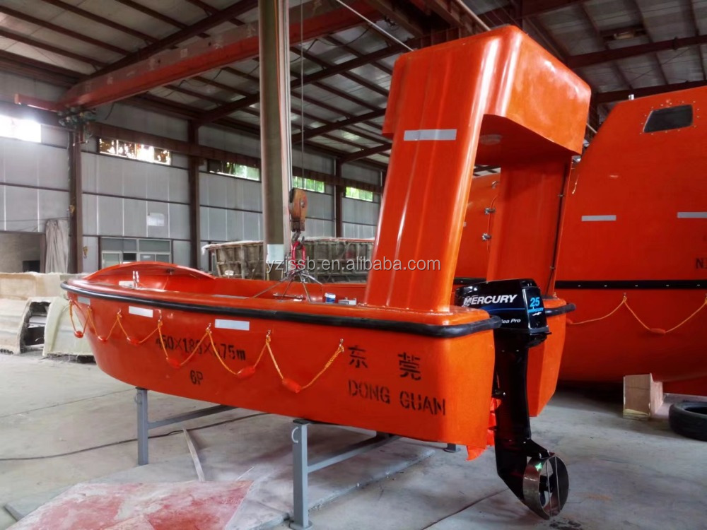 6Person Fiberglass Rescue Boat for sale