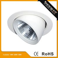 High bright aluminium american led downlight