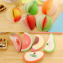 OXGIFT China Wholesale Factory Price custom Korea fruit vegetables Memo Pad kawaii school office stationery products set items