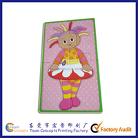Cardboard Design Cartoon Kids Puzzle