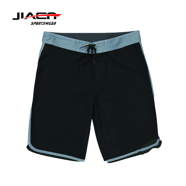 Custom board shorts slim fit running shorts with breathable mesh liner