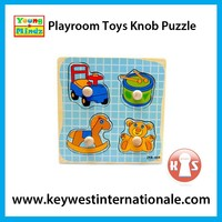 Playroom Toys Knob Puzzle