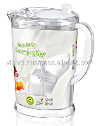 Plastic Pitcher With Mixer