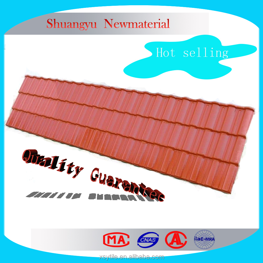 Building Materials Heat Resistant Plastic Sheet/Building Materials Acid Proof UPVC Roof Tile