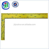 New Style Metal Ruler Accurate Scale Lines L Steel Square Ruler