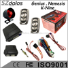 High Quality safeguard car alarm Security System, one way 12V remote anti theft car alarm system