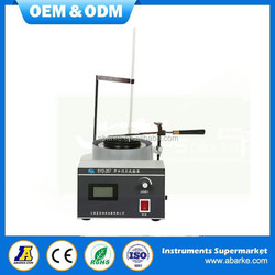 SYD-267 Petroleum Products open flash and fire tester in china supply
